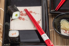 Sushi / traditional Japan food Stock Images