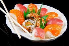 Sushi traditional japanese food Royalty Free Stock Photography