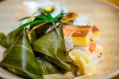 Sushi traditionnels de style de Kyoto Image libre de droits