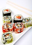 Sushi triangle Royalty Free Stock Photography
