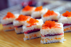 Sushi with a tuna Royalty Free Stock Photography