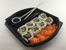 Sushi Tuna Roll Fotos de archivo