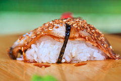 Sushi unagi Stock Photos