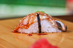 Sushi unagi Stock Photography