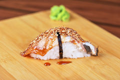 Sushi unagi Royalty Free Stock Photo