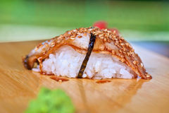 Sushi unagi Royalty Free Stock Photography
