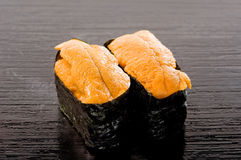 sushi uni Royaltyfria Foton
