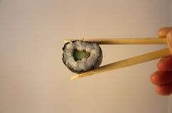 Sushi uramaki Stock Images