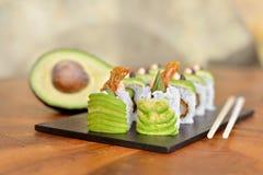Sushi végétaux Photo stock
