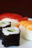 Sushi variation Royalty Free Stock Photos
