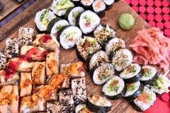 Sushi variety Royalty Free Stock Image