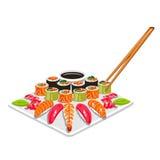 Sushi Vector illustration. Sushi. Japanese food. Vector illustration vector illustration