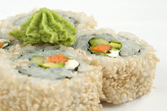 Sushi vegetarian Royalty Free Stock Photos