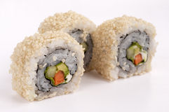 Sushi vegetarian Royalty Free Stock Images