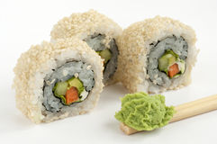 Sushi vegetarian Stock Photography