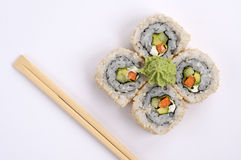 Sushi vegetarian Royalty Free Stock Photography