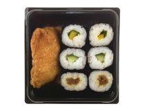 Sushi vegetariani fotografie stock