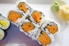 Sushi vegetariano Fotografía de archivo