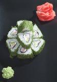 Sushi verdi Fotografia Stock