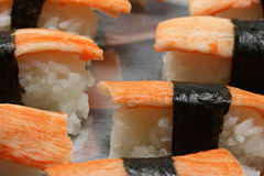Sushi VII. A close up picture of some sushi food Royalty Free Stock Image