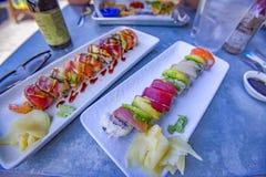 Sushi von San Diego Lizenzfreie Stockfotos