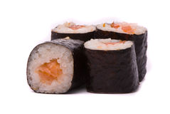 Sushi on a white Royalty Free Stock Photography