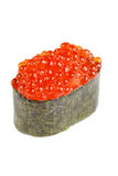 Sushi on the white Stock Image
