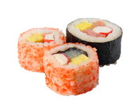 Sushi on the white_3 Stock Images