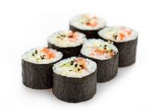 Sushi on white background Royalty Free Stock Image