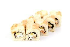Sushi,  on white. Royalty Free Stock Photos