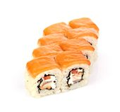 Sushi,  on white. Stock Image