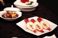 Sushi y arroz Foto de archivo