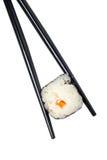 Sushi y palillos Imagen de archivo