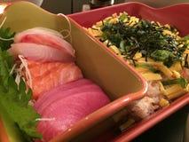 Sushi y sashimi Fotos de archivo