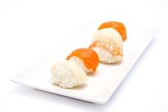 Sushi y wasabi Imagen de archivo libre de regalías