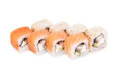 Sushi Yakuza. Isolated on a white background Royalty Free Stock Photo