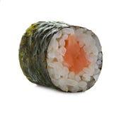 Sushibroodjes op een wit worden geïsoleerd dat Royalty-vrije Stock Foto's