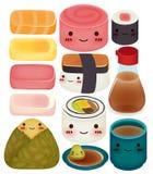 Sushiinzameling Stock Fotografie