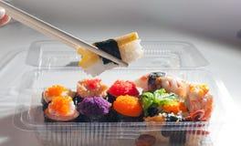 Sushijapanernahrung lizenzfreies stockfoto