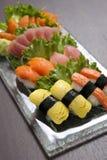 Sushijapankokkonst Royaltyfri Foto