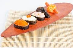 Sushijapanmat Arkivbild