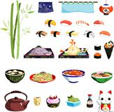 Sushireeks stock illustratie