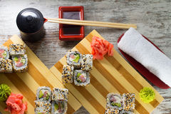 Sushirolle Stockfotos
