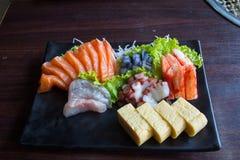 Sushisashimi Stock Foto