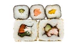 sushivägg Arkivfoton