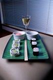sushiwine Fotografering för Bildbyråer