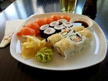 Sushizeit lizenzfreie stockfotos