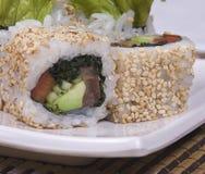 Sushy. Dish of the Japanese kitchen Stock Image