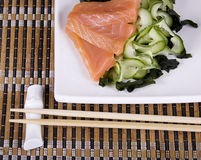 Sushy. Dish of the Japanese kitchen Stock Images