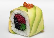 Sushy van een avocado en mult Stock Afbeelding